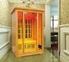2 Person Red cerdar Infrared Sauna cabin (with CE,TUV,EMC)