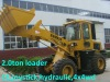 2tons front end wheeled loader,4WD,hydraulic,EURO III Engine,quick hitch,CE prove