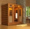 3person far infrared sauna room