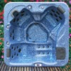 A600 Pearl Shadow Whirlpool Spa Tub