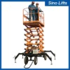 Aerial mobile hydraulic lifts