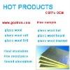 Aluminum foil faced glass wool platel(55kg/m3 40mm)