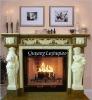 Beautiful Marble Fireplace Mantel