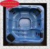 CE 5 seater bath tub with neck collar A520