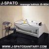 Corner acrylic bathtub