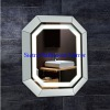 Crystal Style Decorative Illuminated Wall Mirror In Dressing room