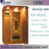 Far infrared sauna room from own factory(SCB-002SL)