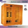 Far infrared sauna room from own factory(SCB-003LA)