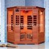 Far infrared sauna with carbon fiber