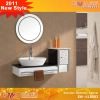Fashion white stainless basin model EM-AL8093