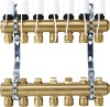 Floor Heating Manifold with Thermal Valve