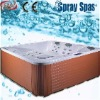 For 6 persons Luxury 100% Acrylic solid surface Bathtub M-560D