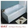 GP-1502 R/L simple square bathtub