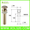 Gold Brass Basin Drain