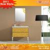 Golden cabinet bathroom EM-AL8108