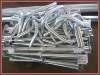 HDG carbon steel pipe galvanized stanchion with fittings