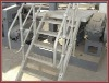 HDG carbon steel pipe steel rail