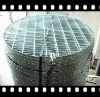 HDG round grating for drains cover low carbon steel or stainless steel round grid for drainages cover
