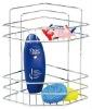 High quality Stainless Steel Bathroom Shelves/ Bathroom corner basket
