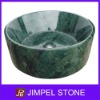 Indian Green Marble Vessel Sink