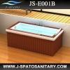 JS-E001B Wood frame Acrylic bath tub shower