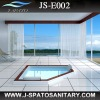 JS-E002 Drop-in and Free -standing Acrylic whirlpool tub