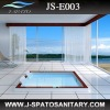 JS-E003 Drop-in NEW Wood frame Acrylic shower tub