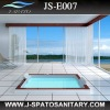 JS-E007 Drop-in and Free -standing Acrylic walk in bathtub