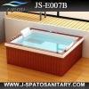 JS-E007B Wood frame Acrylic bathtub