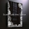Metal wall mounted mirror art,Mirrored Furniture