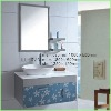 Modern stainless steel bathroom cabinet