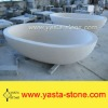 Natural Stone Beige Bathtub