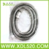 New Flexible Electroplate Double Locks Brass Nut Stainless Plubing Hose Steel Shower Extention