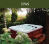 New inflatable spa, acrylic hot tub, bubble bathtub for 5 persons(D-006)