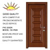 PVC door with glass SC-P029