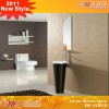 Round glass sink bathroom vanity EM-AL8118