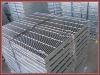 Serrated welded security fence