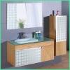 Solid Wooden Bathroom Cabinet