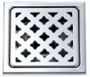 Square stainless steel floor drain B1812-1