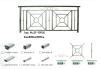 Stainless Steel Balcony Railing ZY-SR005
