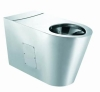 Stainless Steel Siphonic Toilet for disabled