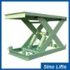 Stationary hydraulic scissor lift