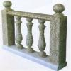 Stone stair handrail