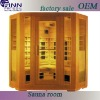 Sun bright sauna room from own factory(SCB-002SL)
