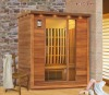 T2011 new model European design infrared sauna cabin with carbon heater in stock