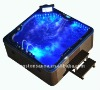 Water jet LED outdoor acrylic hot tubs spa