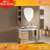 Wood pattern dress cabinet EM-AL8123