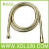 Xiduoli Gold Color Polished Brass Zirconia Plated PVD Flexible Plumbing Bath Hose D32J-C