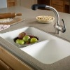 acrylic solid surface kitchen sink