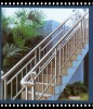 anticorrosion and maintenance free HDG steel pipe ball-joint balustrade